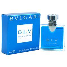 d572c22a2e Bvlgari Blv by Bvlgari for Men - 5 ml EDT Spray (Mini) Frascos De