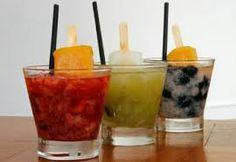 Resultado de imagem para drinks com frutas
