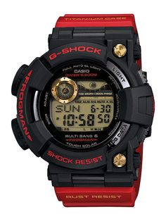 Casio G-Shock GWF-T1030A-1 Frogman, in titanium case