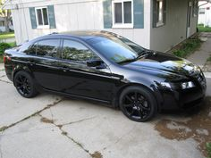 13th Car: 2004 Acura TL (Black). This is what I'm driving now.......love it.