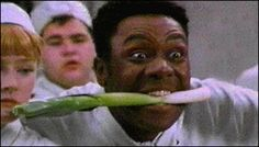 Lenny Henry as Gareth Blackstock in the BBC comedy Chef! British Tv Comedies, British Comedy, Uk Tv Shows, Movies And Tv Shows, Lenny Henry, Buy Movies, Comedy Tv, Tv Times, First Tv
