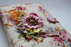 Блокнот ручной работы — Цветочный