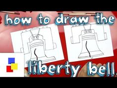 C3 How To Draw The Liberty Bell - Art for Kids Hub