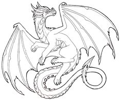 Awesome Drawings Of Dragons Drawing Dragons Step By