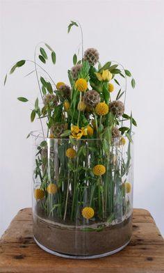 Tea Party Centerpieces, Rustic Table Centerpieces, Bridal Shower Centerpieces, Decoration, Flower Designs, Floral Arrangements, Grass, Floral Design, Inspiration