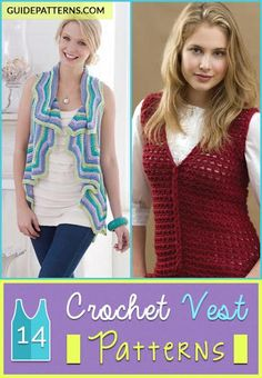 14 Crochet Vest Patterns | Guide Patterns