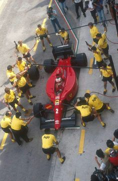 Nigel Mansell (Ferrari) 1990.
