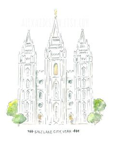 Image result for lds temple drawings orlando