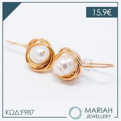 Διαχρονικά σκουλαρίκια με #μαργαριτάρι!!💜  💌Τα μαργαριτάρια ενισχύουν την σοφία και δρούν κατα της μελαγχολίας!  #mariahjewellery #mariah #jewellery #cathrene #angelobaretta #diaforoisxediastes Stud Earrings, Jewelry, Jewlery, Jewerly, Stud Earring, Schmuck, Jewels, Jewelery, Earring Studs