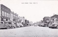 Main Street , TAMA , Iowa ,  10-20s