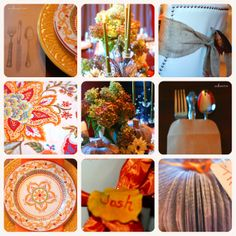 Thanksgiving Day Tablescape http://anallievent.com/