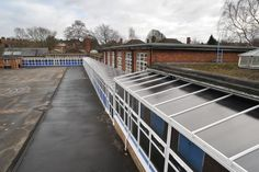 Angel Road Courtyard Canopy and Covered Walkway