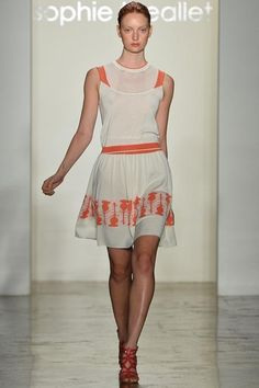 Sophie Theallet Spring 2014 Ready-to-Wear - Collection - Gallery - Look 1 - Style.com