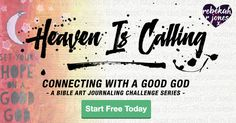 Bible Art Journaling Challenge by Rebekah R Jones is free for everyone! Learn how to participate and enjoy the free video tutorials and devotionals.