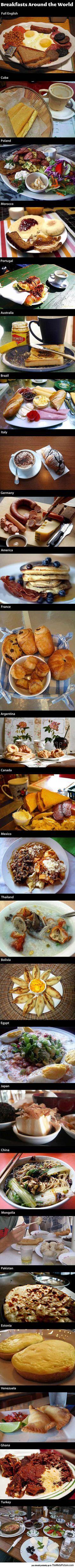 The Way People Eat Breakfast Around The World - The Meta Picture