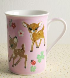 P.Nakamura Bambi mug cup