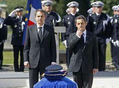 Históricamente, los miembros de ETA han tomado refugio en Francia, especialmente el país vasco francés. Pero en 2010, el (ex) presidente Nicolas Sarkozy de Francia se ha comprometido a erradicar todas las redes de apoyo francés de Eta después de ETA fue considerado responsable del asesinato de un policía francés. La foto muestra Nicolas Sarkozy y el (ex) primer ministro español José Luis Rodríguez Zapatero  en el funeral de Jean-Serge Nérin en 23 de marzo de 2010.
