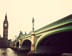 Photograph of Big Bend and Westminster Bridge by Tracey Capone