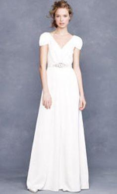 Used J. Crew Wedding Dress 93079, Size 6