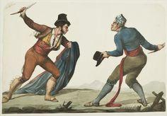 El Bandolero Tempranillo. Robin Hood Andaluz #navaja #foldingknife #knife #spain #duel: