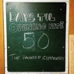 Were getting close!! #HauntedElementary #Saginaw #HauntedHouse