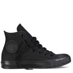 All-Black High Top Chuck Taylor Shoes : Converse Shoes | Converse.com