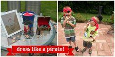 Lovely Lane: Captain Will's Pirate Birthday