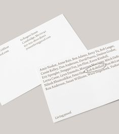 Living Proof - Wolff Olins