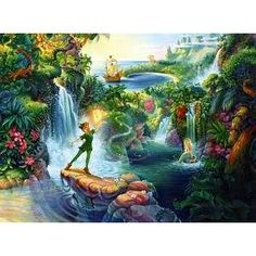 Tom duBois Peter Pan 1000 Piece Jigsaw Puzzle