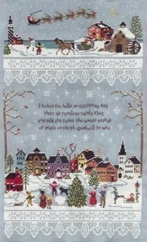 Christmas in July: Cross Stitch Patterns to Start Today: Walking in a Winter Wonderland