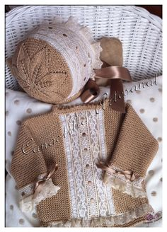 Knitting For Kids, Crochet For Kids, Baby Knitting, Baby Barn, Knitted Baby Clothes, Baby Couture, Baby Socks, Baby Boutique, Baby Sweaters