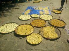 Drying noodles @ HoiAn, Vietnam
