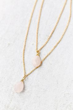 Stones Of The Valley Layered Necklace - Urban Outfitters