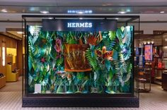 vetrina di Hermes