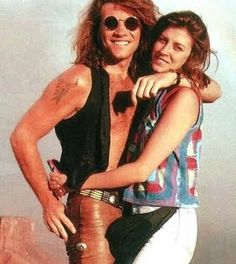 Jon Bon Jovi and his wife Dorthea