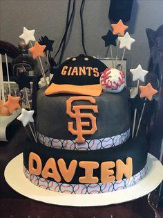 Sf Giants Cake!! @candies_bakery @_ms_lipz_ #sfgiantscake #sf #giants #candiesbakery ⚾️
