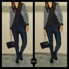 COCÓ&BASICO&LEGGING #cocó + #leopardblackandwhite &  #basico &#legging + #black   #beautifullweekend #GreatWeek