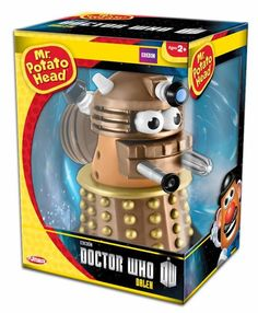 "Mr. Potato head becomes the ultimate ""Extermi-tator"" as the Doctor's ""starch"" nemesis! Coming this October from Underground Toys!!"
