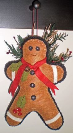 gingerbread ornie to make