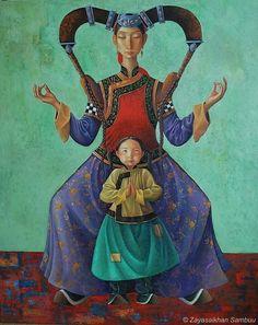 Zayasaikhan Sambuu (aka Zaya), was born in 1975, in a small, isolated town in Gobi, Western Mongolia.