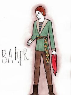 Baker sketch by Marianne Jetté for the musical Into The Woods