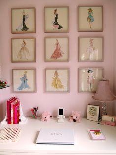 Barbie Illustrations