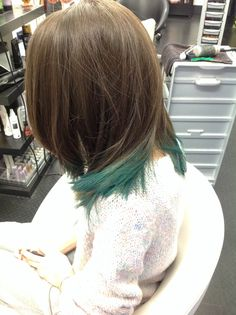 Happy Halloween 31 ottobre 2014 Hair chalk