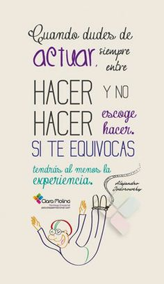 ACTÚA... (((Sesiones y Cursos Online www.psicologaemocional.com #psicologia #emociones #salud)))