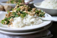 Snelle Koreaanse tofu salade met waterkers