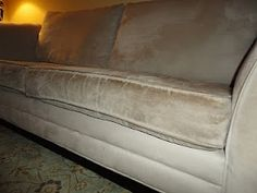 Cleaning microfiber furniture scocdf
