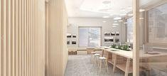 Raiffeisen Ruswil 2017, Geschäftsstelle   MACH ARCHITEKTUR GMBH Finance, Divider, Room, Furniture, Design, Home Decor, Architecture, Bedroom, Decoration Home