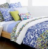 75% OFF! Style & Co. Azalea Blue Twin Duvet Cover Pillow Set 9 Pieces! NEW