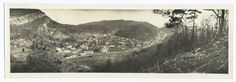Panoramic view of Cumberland Gap, TN. (Collection NY Public Library / Photography Collection, Miriam and Ira D. Wallach Division of Art, Prints and Photographs)