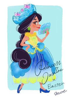 Easter Princess Jasmine